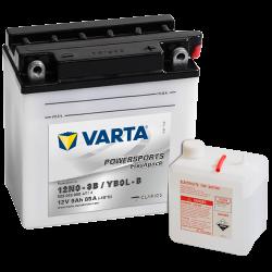 Batería Varta 12N9-3B,YB9L-B 509015008 9Ah 85A 12V Powersports Freshpack VARTA - 1