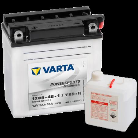 Batería Varta 509014008 9Ah 85A 12V Powersports Freshpack VARTA - 1