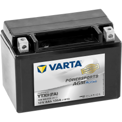 BATTERY VARTA POWERSPORTS B49-6 6V 8AH 40A  - 1