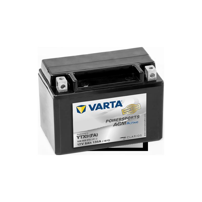 BATTERY VARTA POWERSPORTS B49-6 6V 8AH 40A  - 1