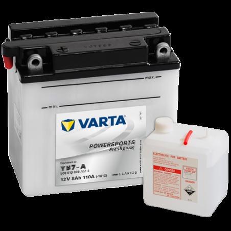 Batería Varta YB7-A 508013008 8Ah 110A 12V Powersports Freshpack VARTA - 1