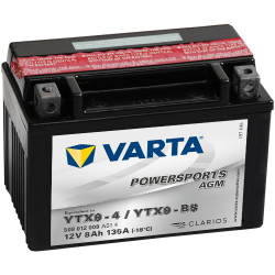 BATTERY VARTA POWERSPORTS 6N11A-3A 6V 11AH 80A