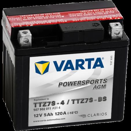 Batería Varta 507902011 5Ah 120A 12V Powersports Agm VARTA - 1
