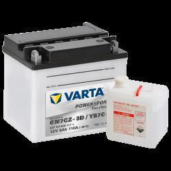 Batería Varta 507101008 8Ah 110A 12V Powersports Freshpack VARTA - 1