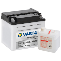 BATTERY VARTA POWERSPORTS YB3L-A 12V 3AH 30A
