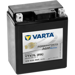 BATTERY VARTA POWERSPORTS YB3L-B 12V 3AH 30A