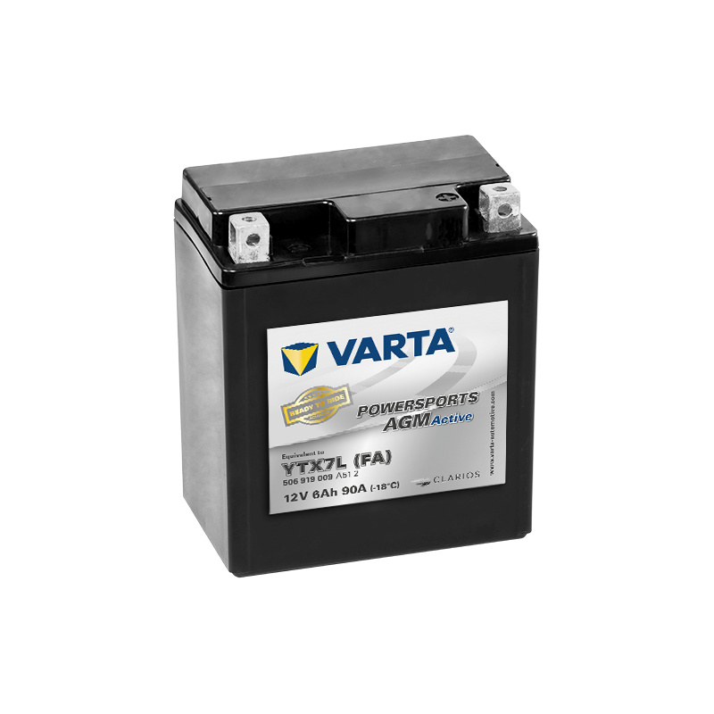 BATTERY VARTA POWERSPORTS YB3L-B 12V 3AH 30A  - 1