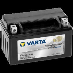 Battery Varta YTX7A-4 506909009 6Ah 90A 12V Powersports Agm Active VARTA - 1