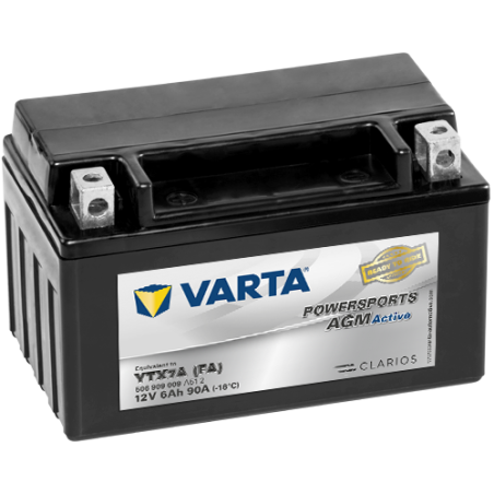 BATERIA Varta YTX7A-4 VARTA 506909009 6Ah 90A 12V VARTA - 1