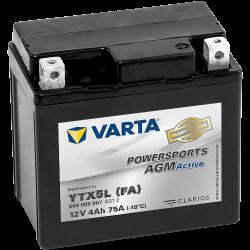 Batería Varta YTX5L-4 504909007 4Ah 75A 12V Powersports Agm Active VARTA - 1