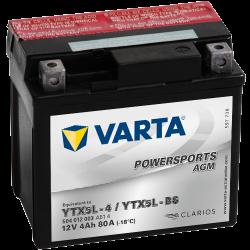 Batería Varta 504012003 4Ah 80A 12V Powersports Agm VARTA - 1