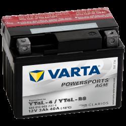 BATTERY VARTA POWERSPORTS 12N5.5A-3B 12V 5,5AH 58A