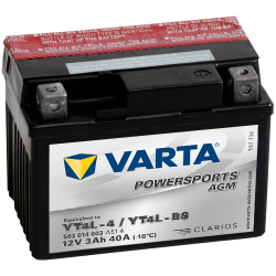 BATTERY VARTA POWERSPORTS 12N5.5A-3B 12V 5,5AH 58A  - 1