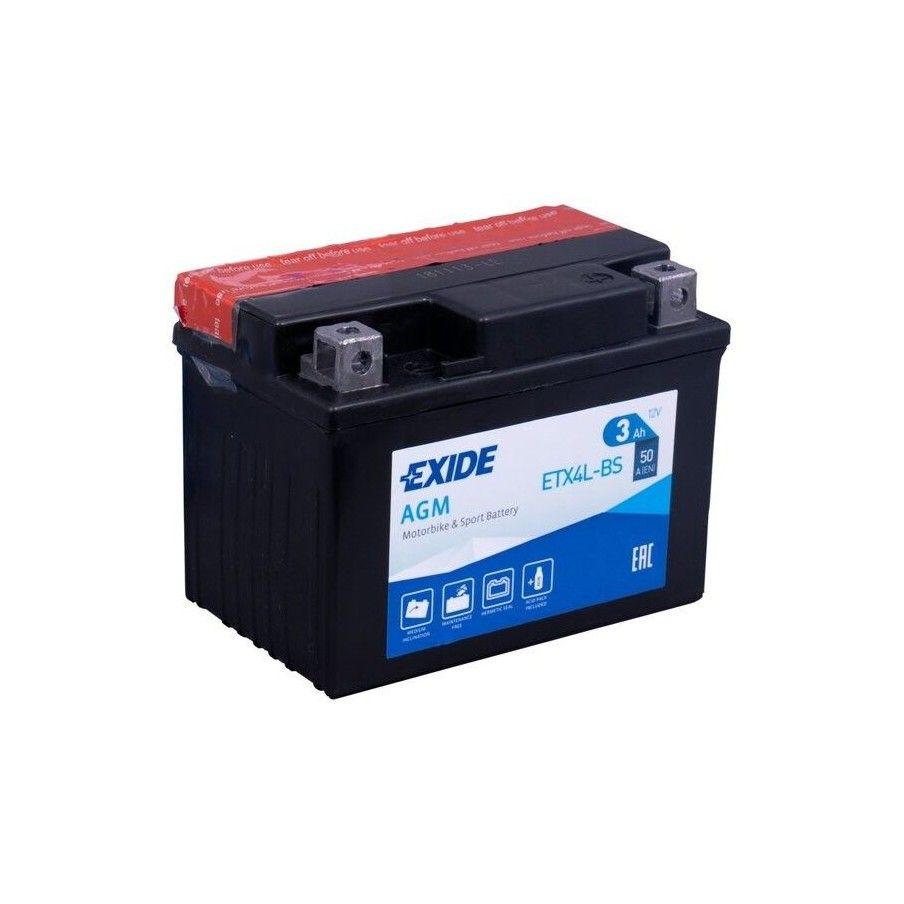 BATERIA Exide EXIDE ETX4L-BS EXIDE - 1