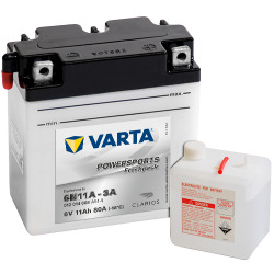 BATTERY VARTA POWERSPORTS 12N7-4A 12V 7AH 74A  - 1