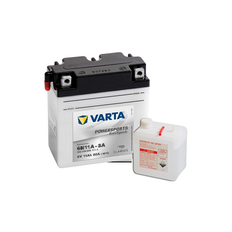 BATERIA VARTA POWERSPORTS 12N7-4A 12V 7AH 74A  - 1