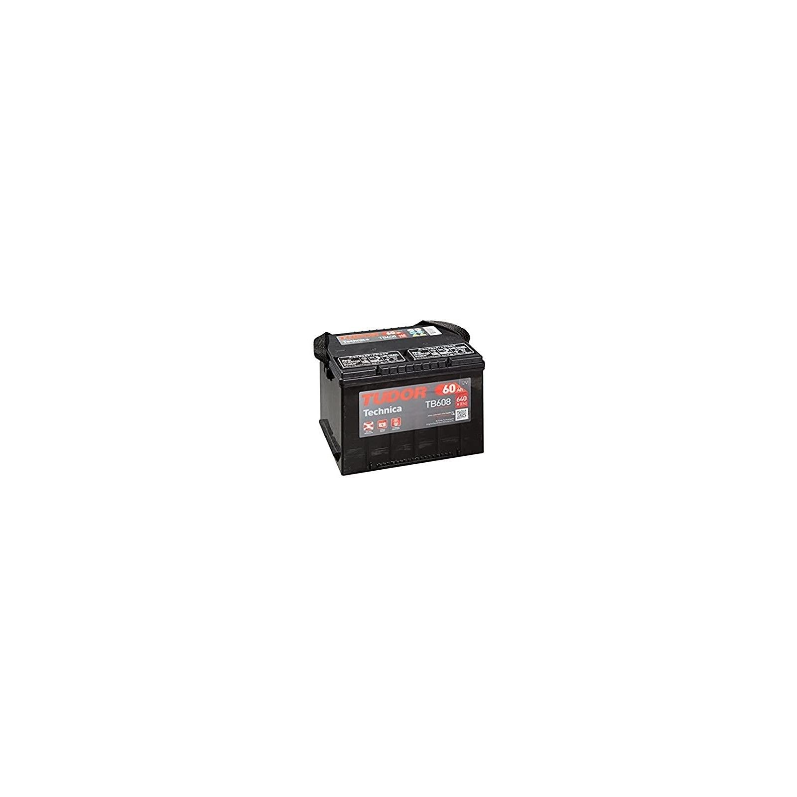 Batería Exide TB608 60Ah 640A 12V EXIDE - 1