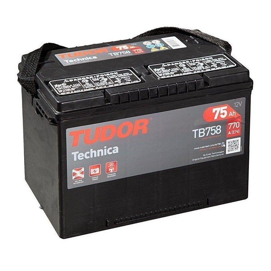 Batería Exide TB758 75Ah 770A 12V EXIDE - 1