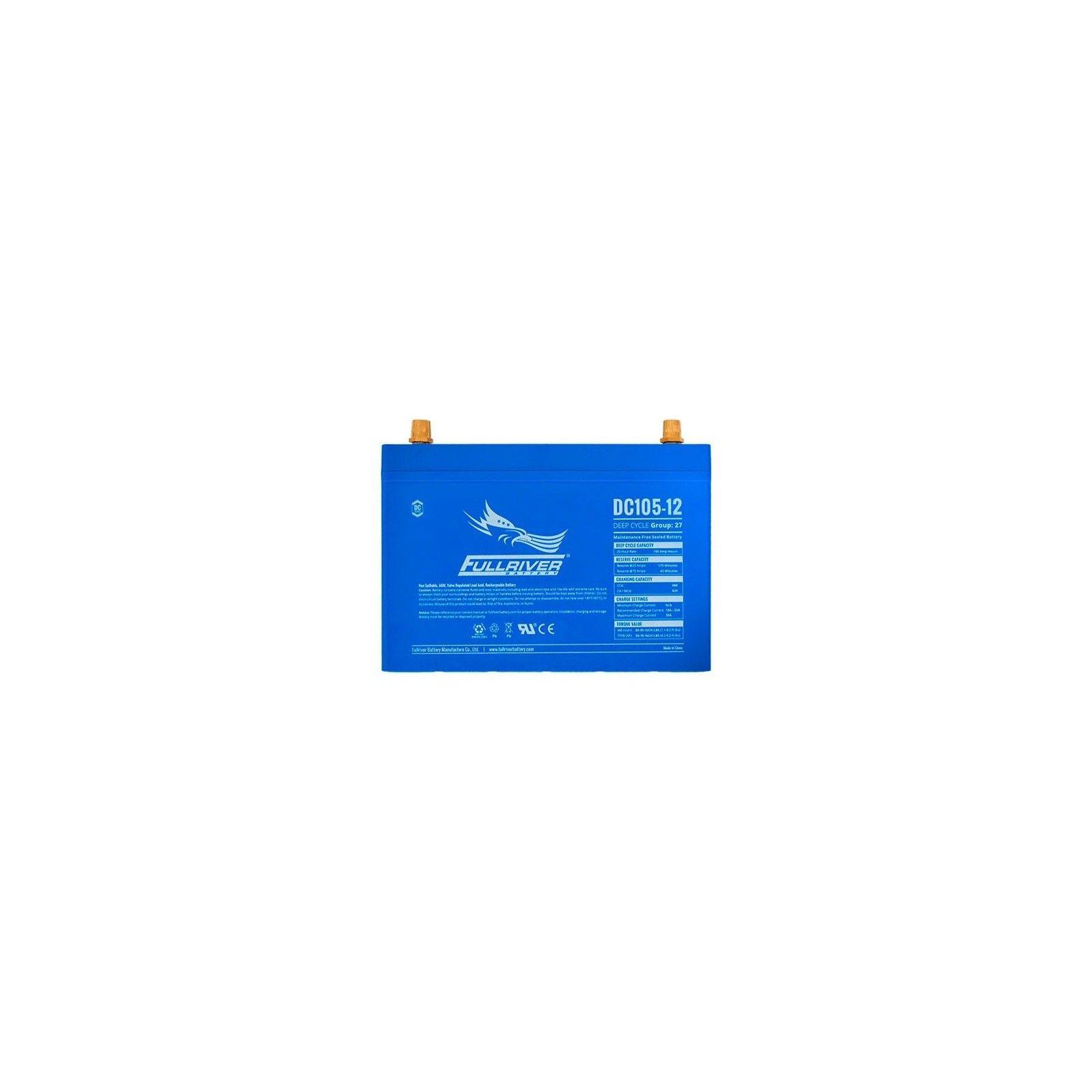 Battery Fullriver DC105-12 105Ah 550A 12V Dc FULLRIVER - 1