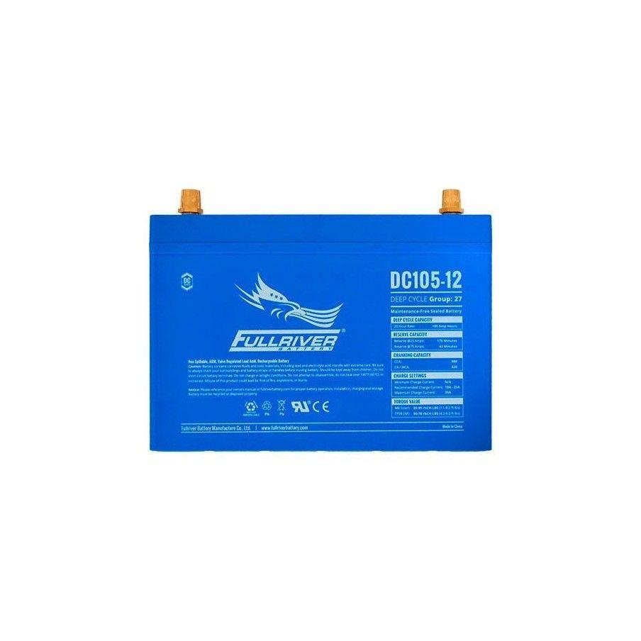 Batería Fullriver DC105-12 105Ah 550A 12V Dc FULLRIVER - 1