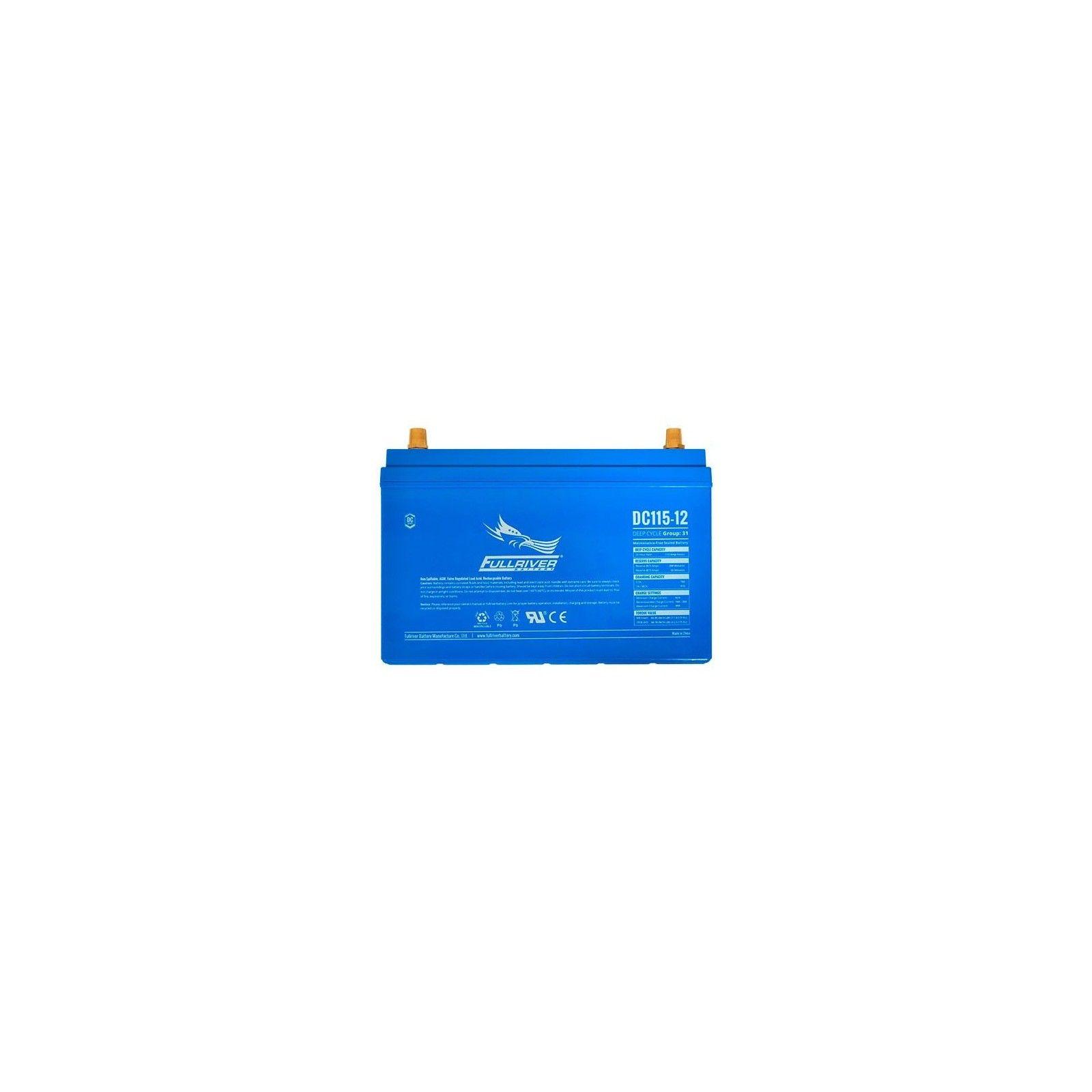 Batería Fullriver DC115-12A 115Ah 600A 12V Dc FULLRIVER - 1