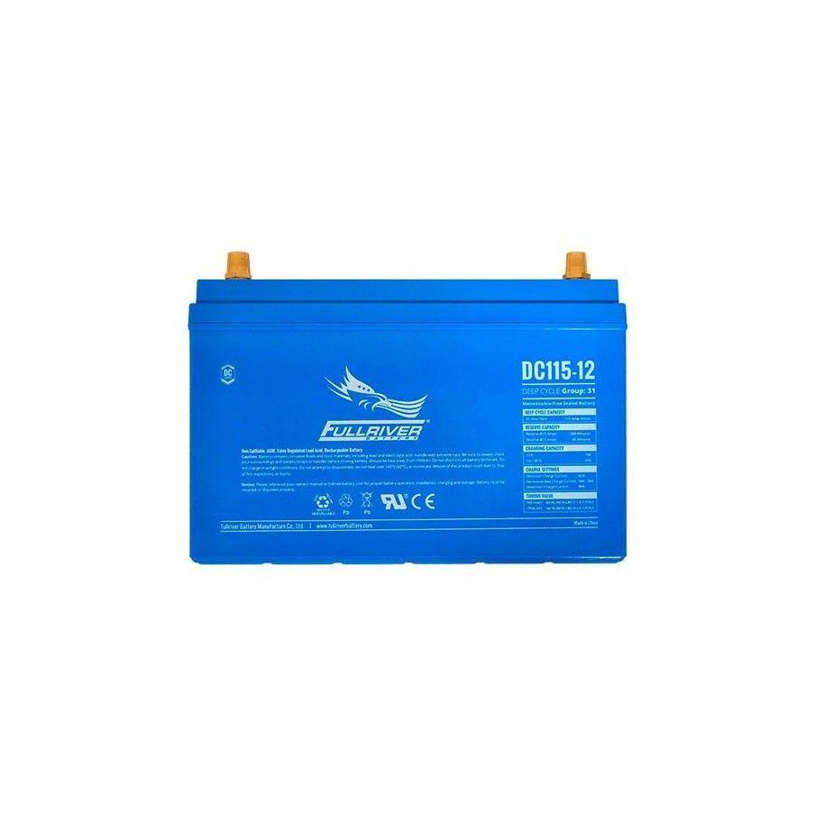 Battery Fullriver DC115-12A 115Ah 600A 12V Dc FULLRIVER - 1