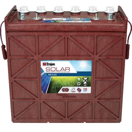 Batería Trojan SSIG 12 255 229Ah 12V Solar Signatura 100 Ciclos 50% Dod TROJAN - 1