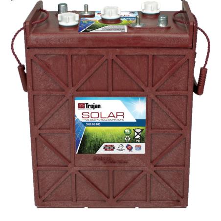 Batería Trojan SSIG 06 405 366Ah 6V Solar Signatura 100 Ciclos 50% Dod TROJAN - 1