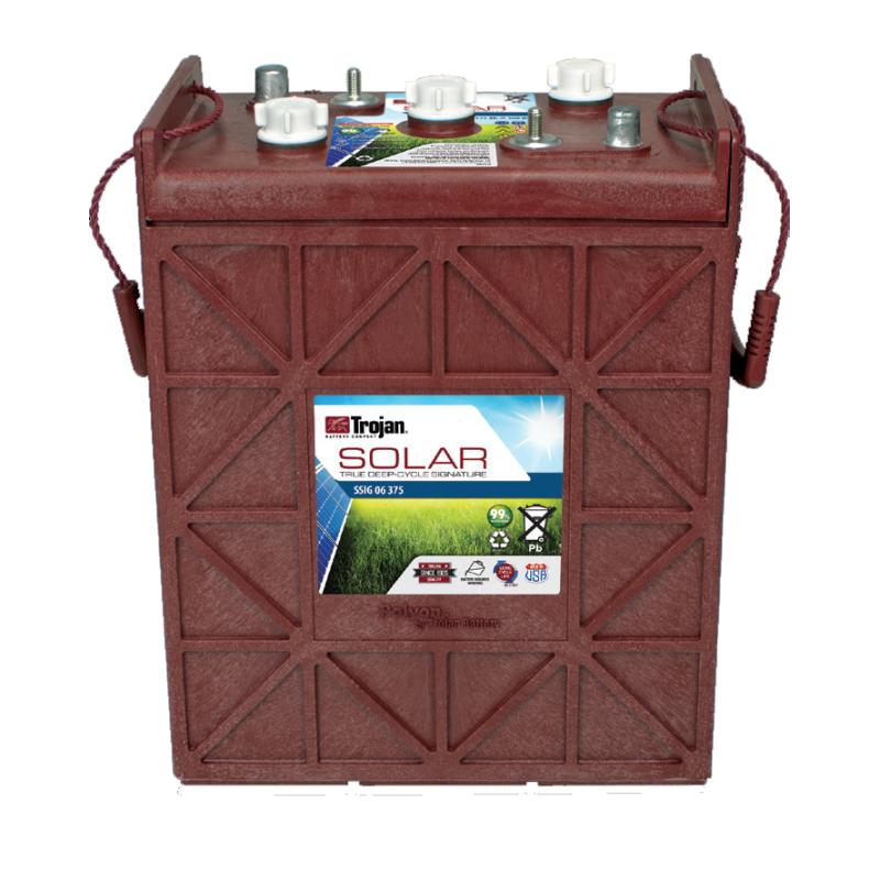 Batería Trojan SSIG 06 375 336Ah 6V Solar Signatura 100 Ciclos 50% Dod TROJAN - 1