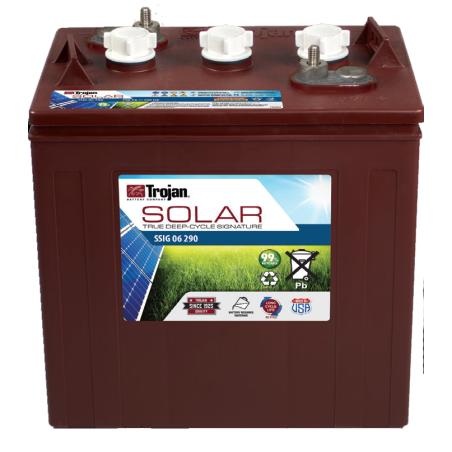 Batería Trojan SSIG 06 290 265Ah 6V Solar Signatura 100 Ciclos 50% Dod TROJAN - 1