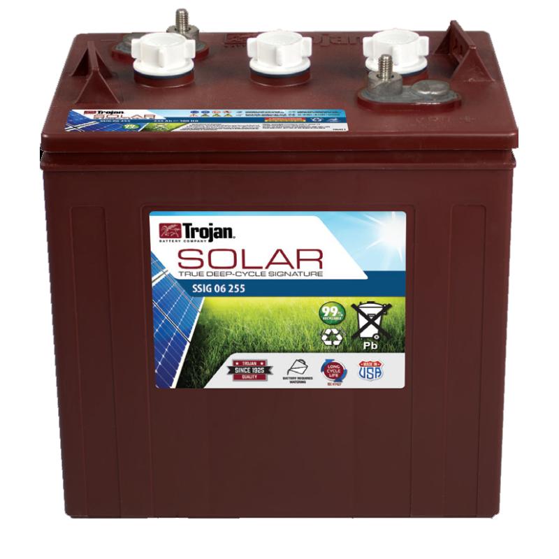 Batería Trojan SSIG 06 255 229Ah 6V Solar Signatura 100 Ciclos 50% Dod TROJAN - 1
