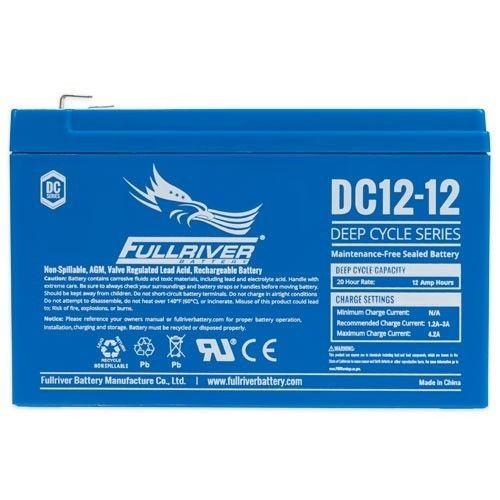 Battery Fullriver DC12-12 12Ah 12V Dc FULLRIVER - 1