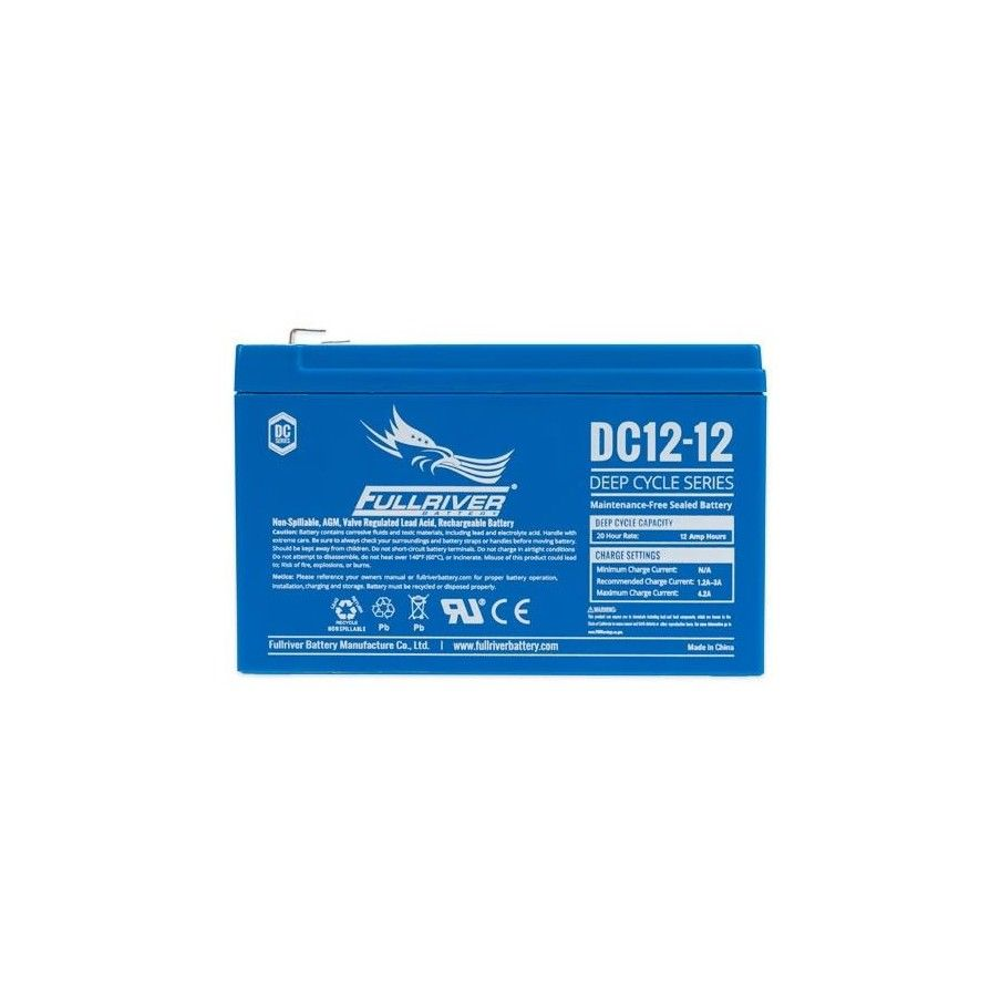 Batería Fullriver DC12-12 12Ah 12V Dc FULLRIVER - 1