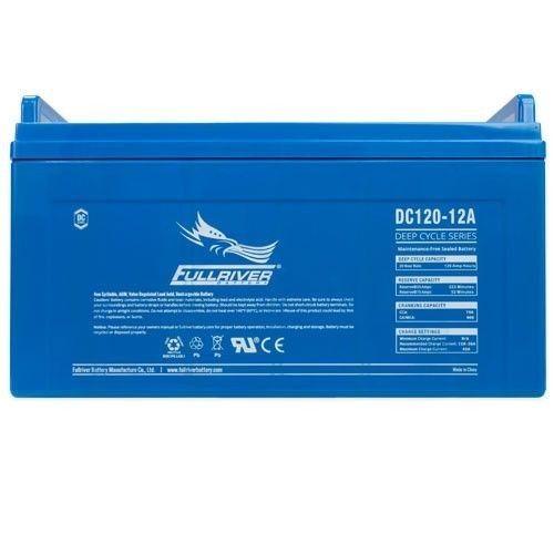 Battery Fullriver DC120-12A 120Ah 750A 12V Dc FULLRIVER - 1