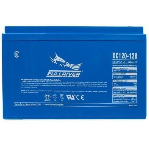 Batería Fullriver DC120-12B 120Ah 760A 12V Dc FULLRIVER - 1