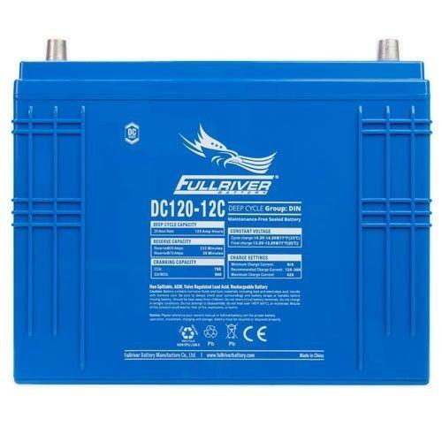 Battery Fullriver DC120-12C 120Ah 750A 12V Dc FULLRIVER - 1