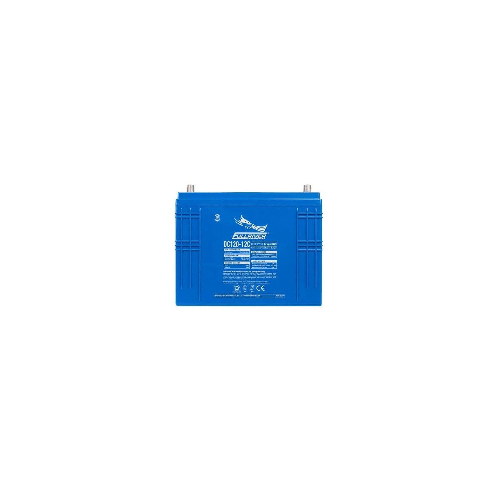 Batería Fullriver DC120-12C 120Ah 750A 12V Dc FULLRIVER - 1
