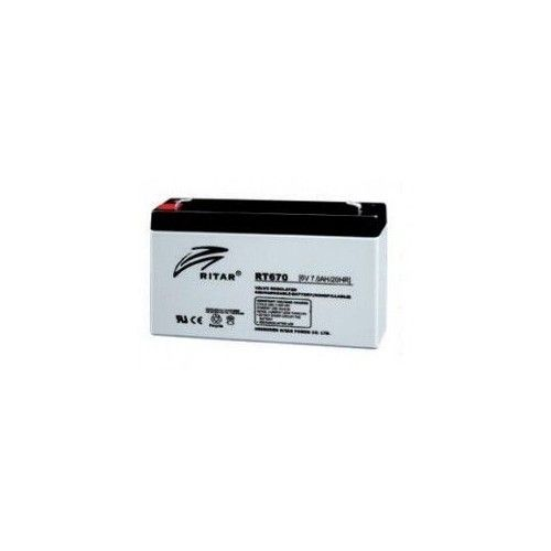 BATERIA Ritar RITAR RT670 7Ah 6V RITAR - 1