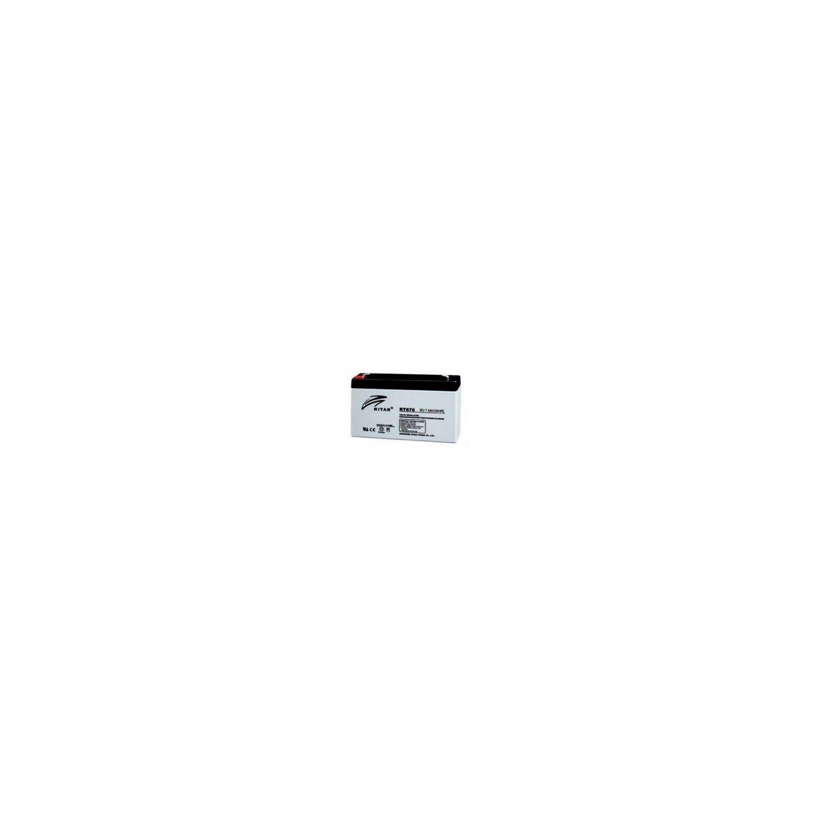 Batería Ritar RT670 7Ah 6V Rt RITAR - 1