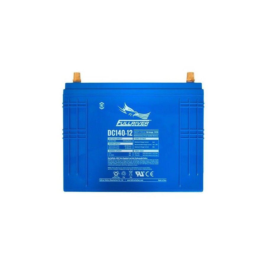 Batería Fullriver DC140-12 140Ah 795A 12V Dc FULLRIVER - 1