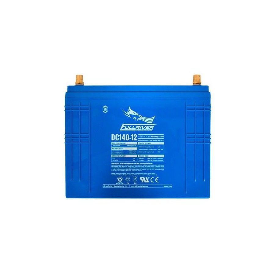 Battery Fullriver DC140-12 140Ah 795A 12V Dc FULLRIVER - 1