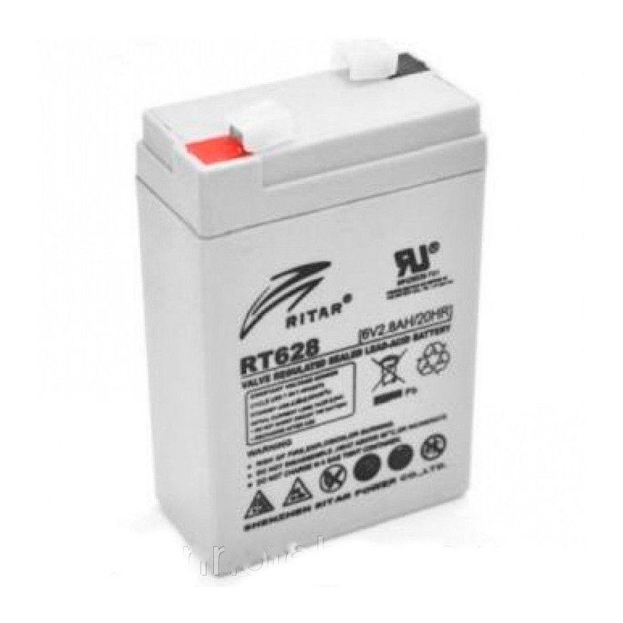 Batería Ritar RT628 2,8Ah 6V Rt RITAR - 1