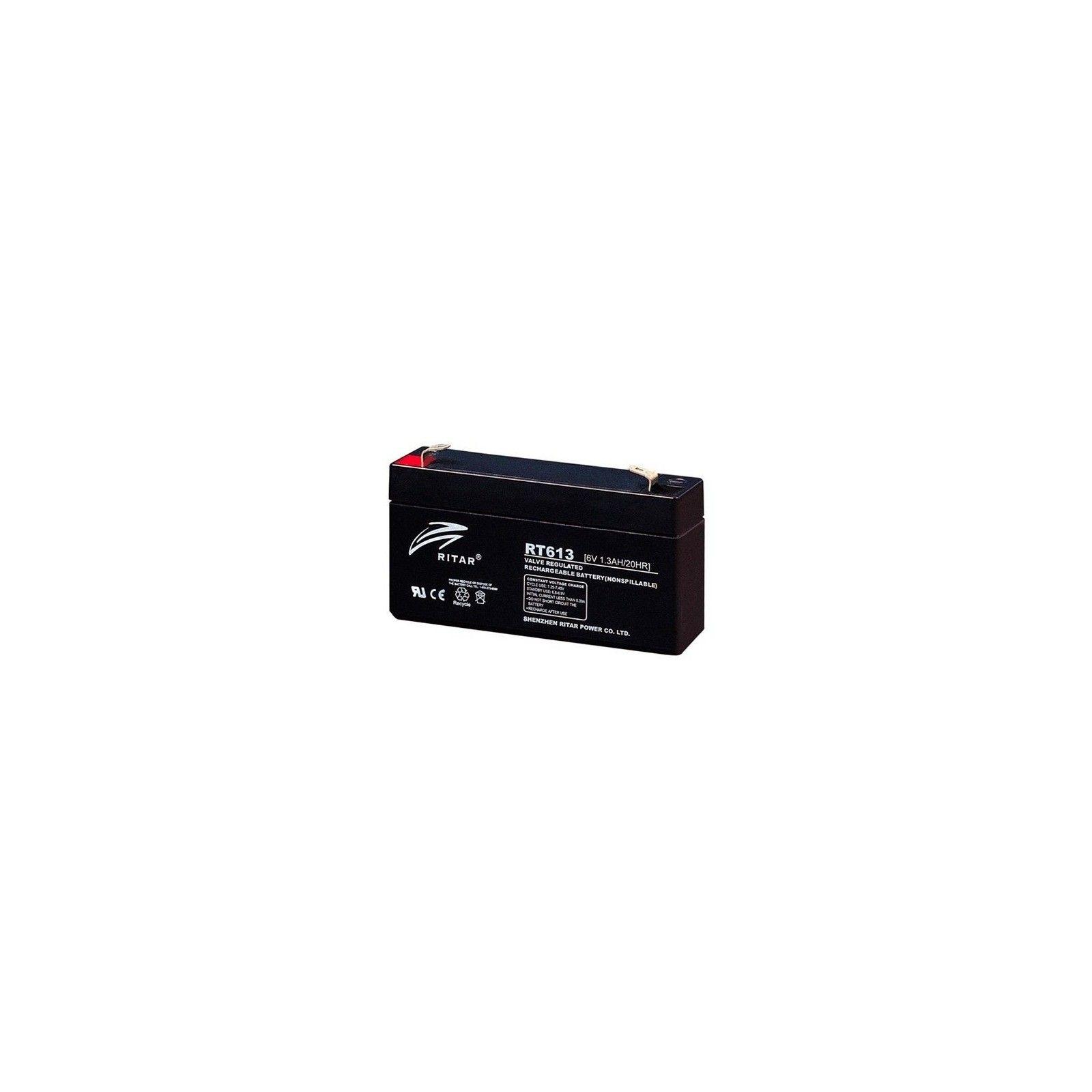Batería Ritar RT613 1,3Ah 6V Rt RITAR - 1
