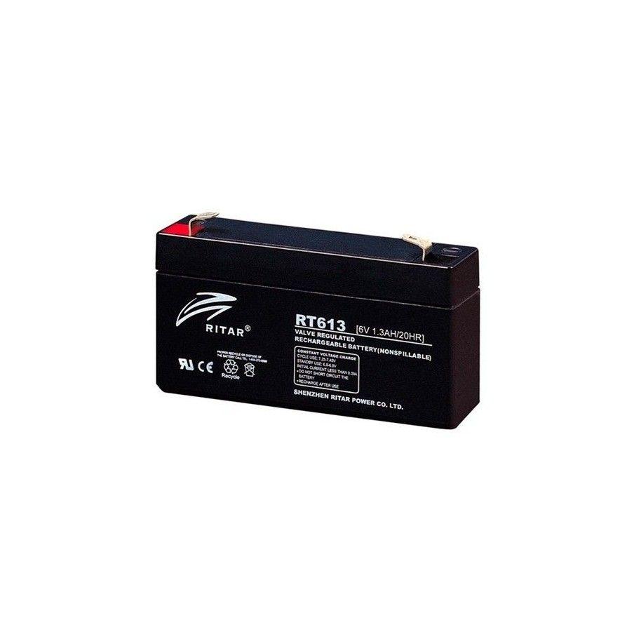 BATERIA Ritar RITAR RT613 1,3Ah 6V RITAR - 1