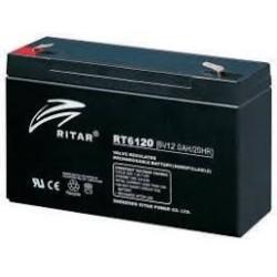 Batería Ritar RT6120 12Ah 6V Rt RITAR - 1