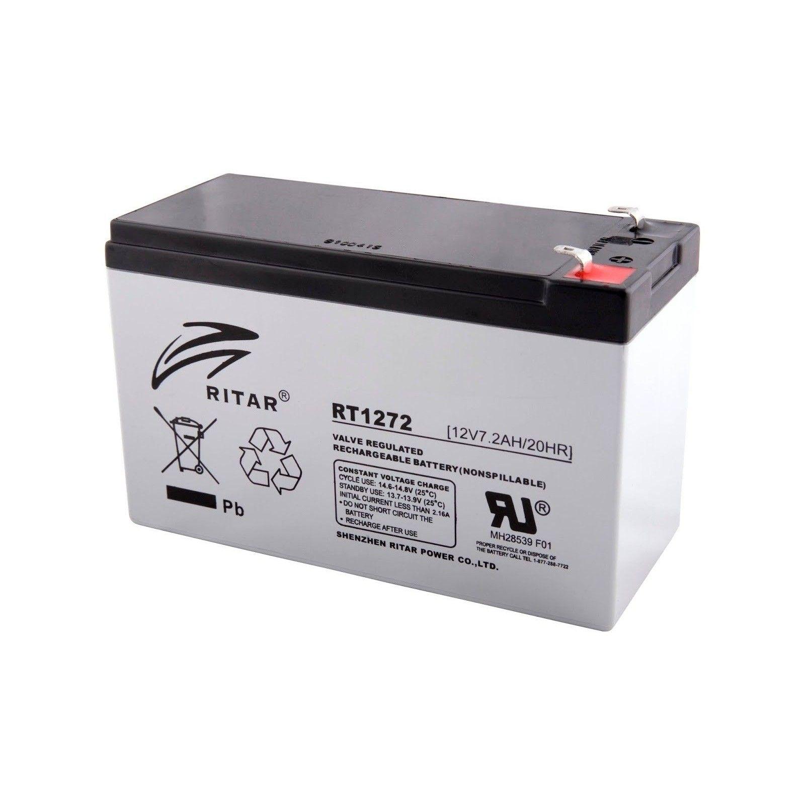Batería Ritar RT1272 7,2Ah 12V Rt RITAR - 1