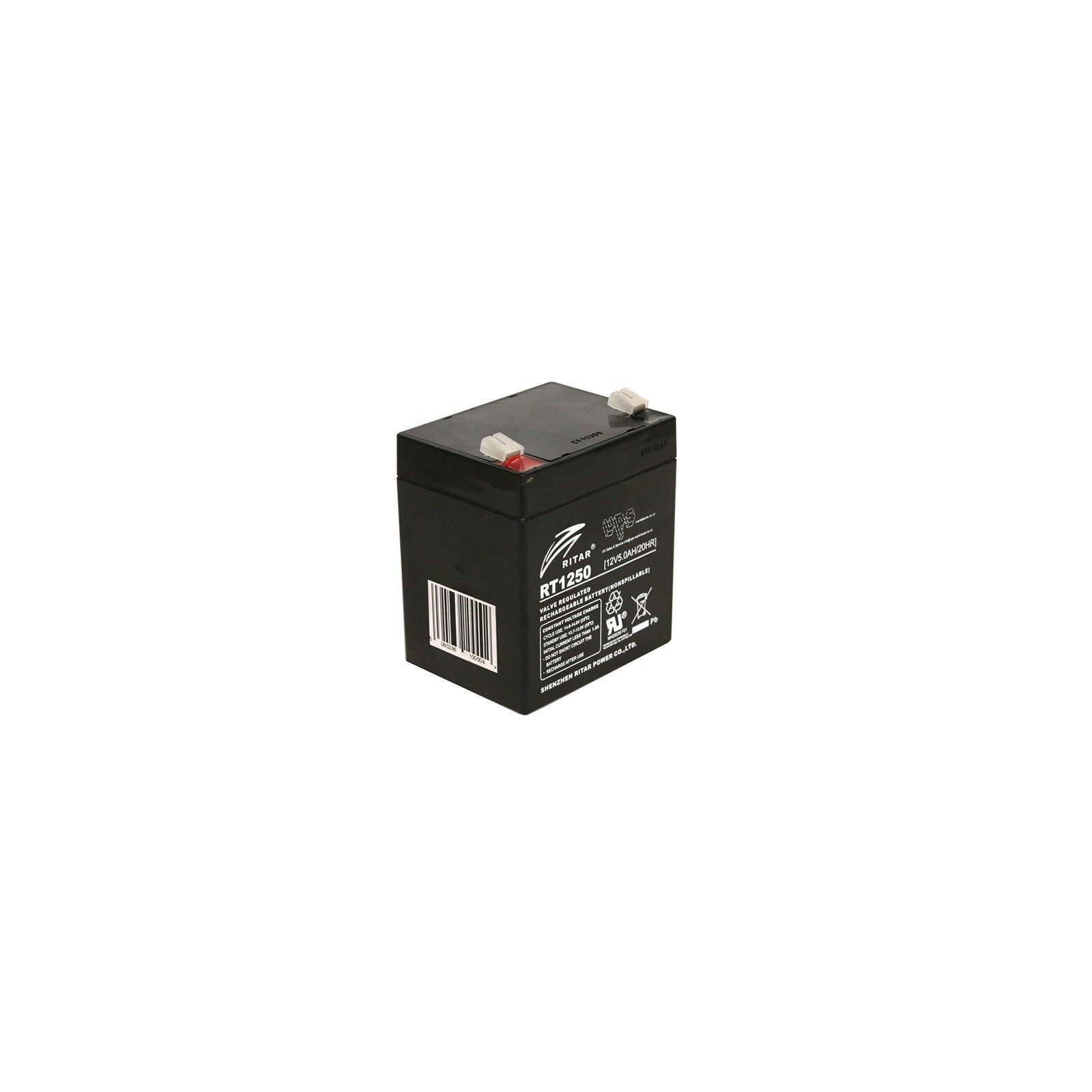 BATTERY MK POWERED AGM ES5-12 12V 5AH  - 1