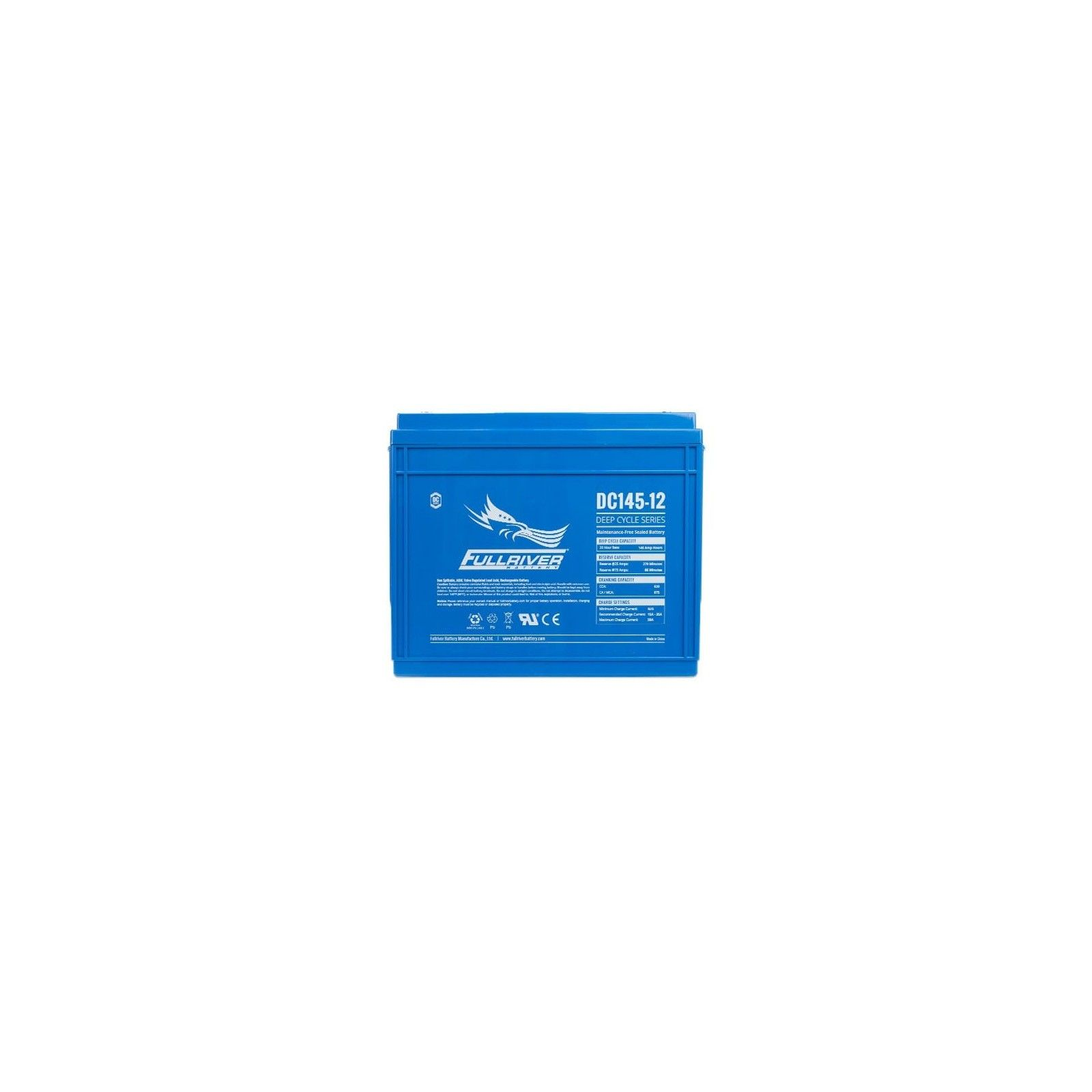 Batería Fullriver DC145-12 145Ah 820A 12V Dc FULLRIVER - 1