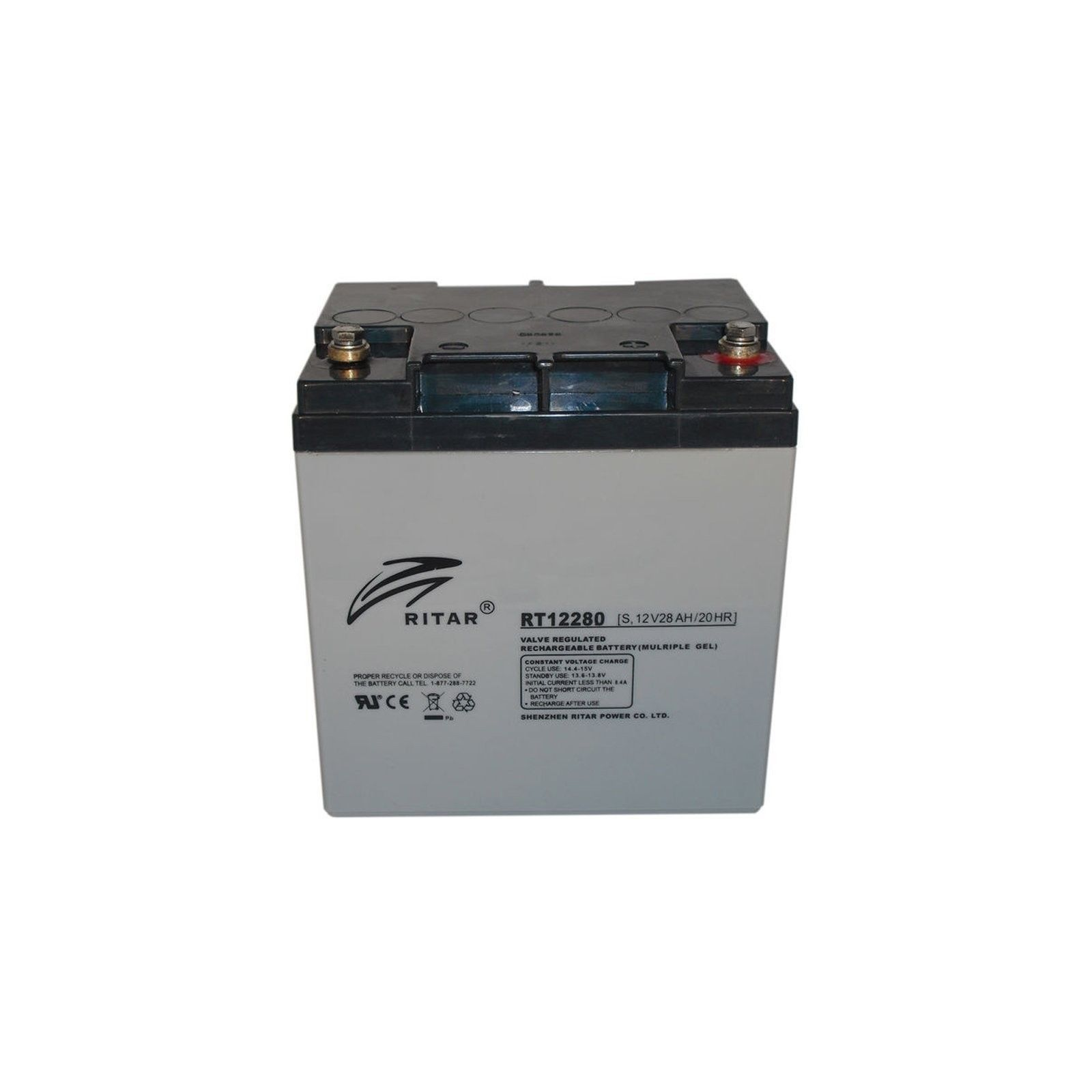 BATTERY MK POWERED AGM ES7-12 12V 7,2AH  - 1