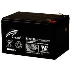 BATTERY MK POWERED AGM ES12-12 12V 12AH  - 1